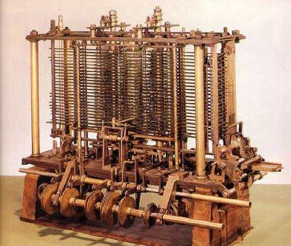 «Аналитическая машина» Бэббиджа