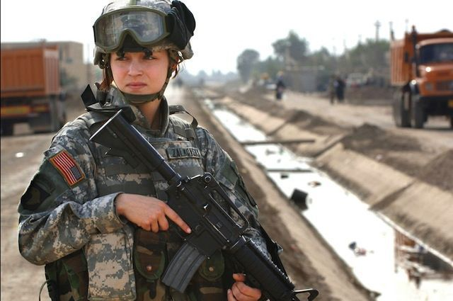 lifting military restriction on women