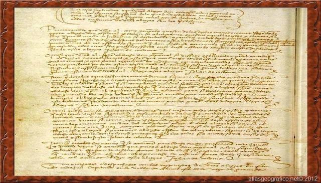 Firma de las Capitulaciones de Sta. Fe