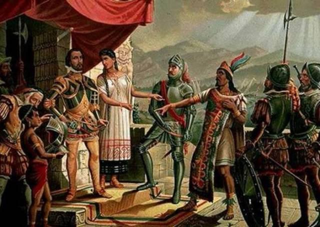 Comienza la conquista de México