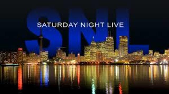 First Show on Saturday Night Live