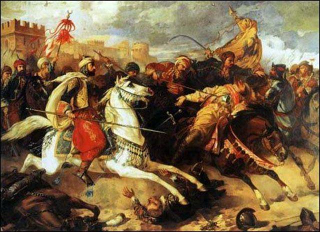 Caida de Constantinopla.