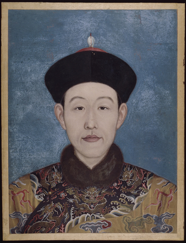 Qian-long begins his reign as emperor of China