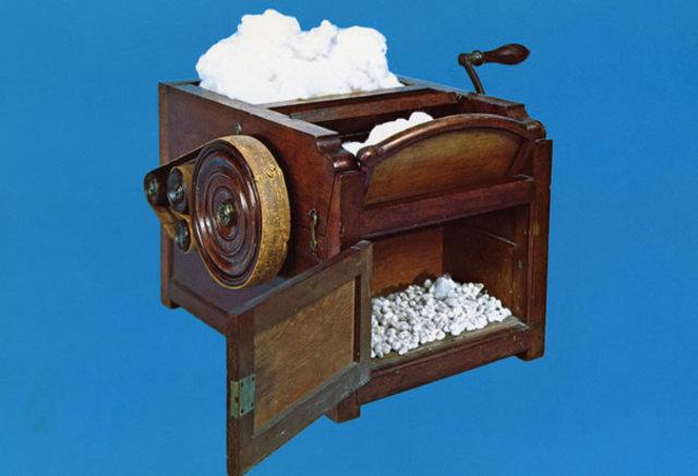 Eli Whitney creates the cotton gin