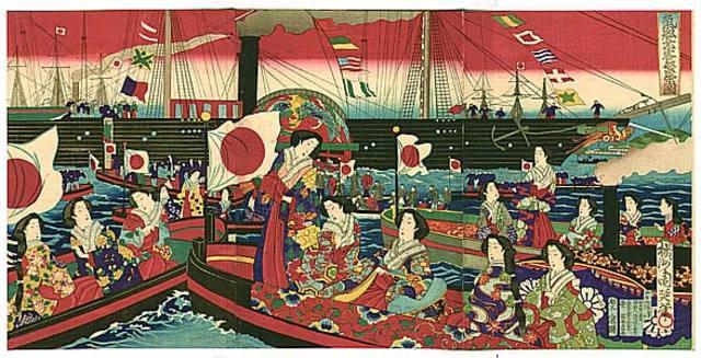 The Meiji era begins a period of modernization in Japan