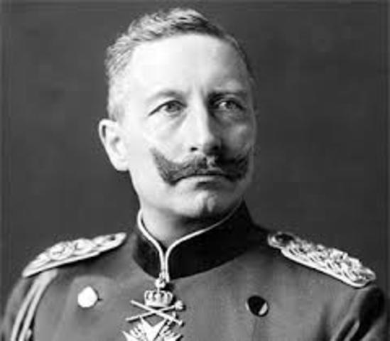 Guillermo II, nuevo Káiser de Alemania.