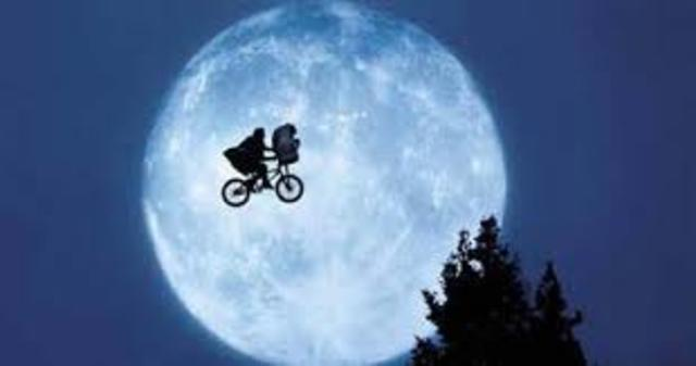 E.T. is released in theatres