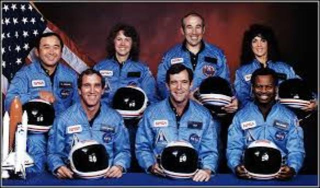 "Space Shuttle ""Challenger"" Explodes"