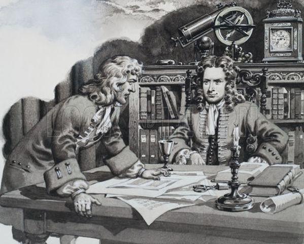 Edmond Halley Visited Newton