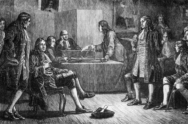 Sir Newton elected President of Royal Society