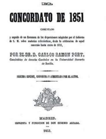 Concordato de la Santa Sede 1851