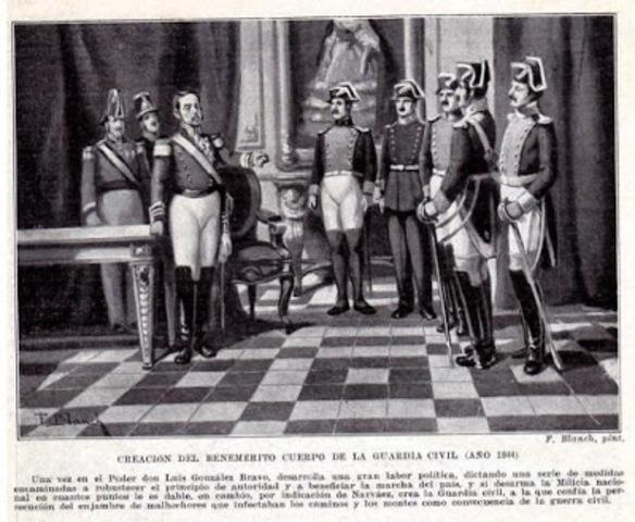 Creación de la Guardia Civil.