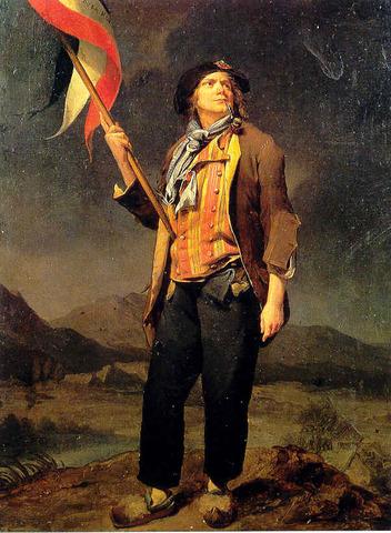 Establishment of sans-culottes paramilitary forces - revolutionary armies.