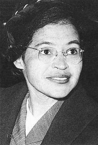 Rosa Parks was born