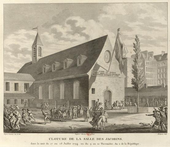 Closure of Jacobin Club