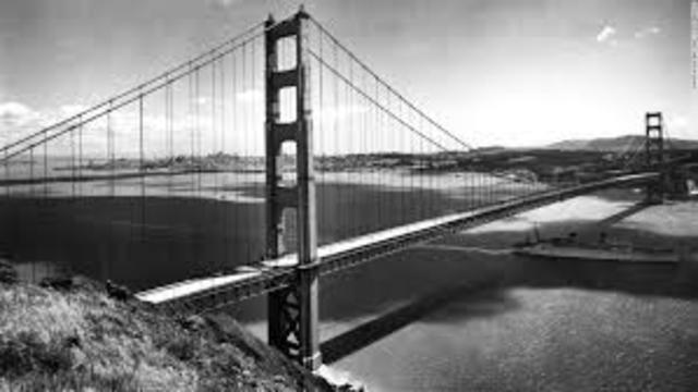 The Golden Gate Bridge is open