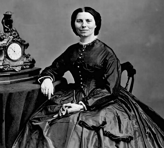 Clara Barton founded American Red Cross in 1881