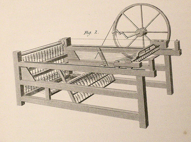 textile worker James Hargreaver invents a spinning wheel named after his daughter Jenny