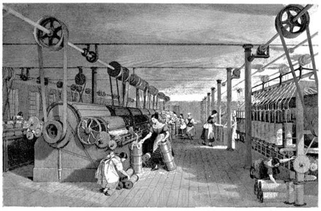 """Edward Baines publishes his book """"The History of Cotton Manufacture in Great Britain"""""""