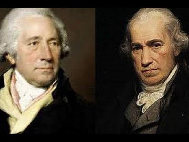 James Watt joins bussinessman Matthew Boulton