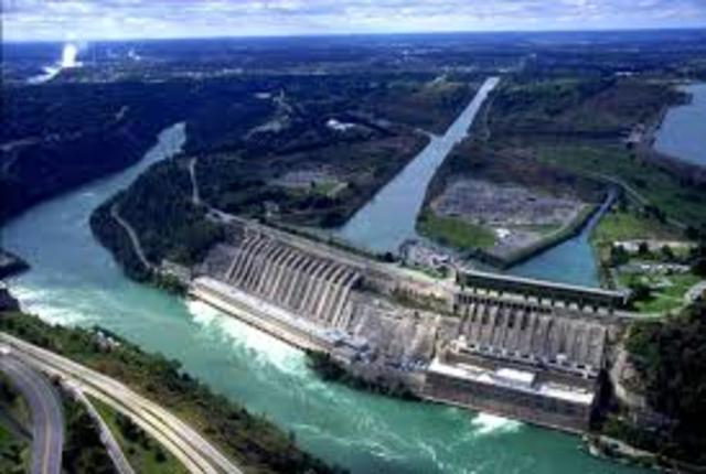 The Niagara Falls Hydropower plant