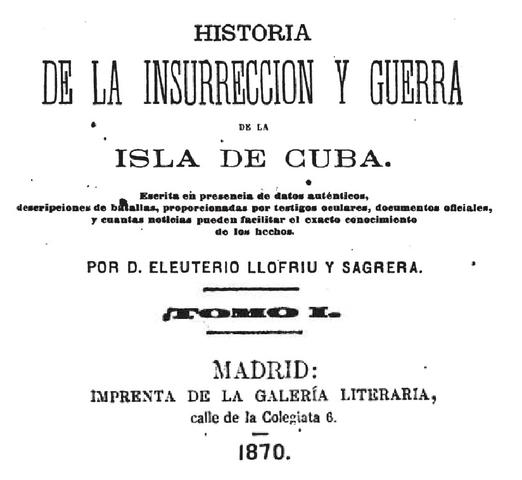 Insurreción en la Isla de Cuba
