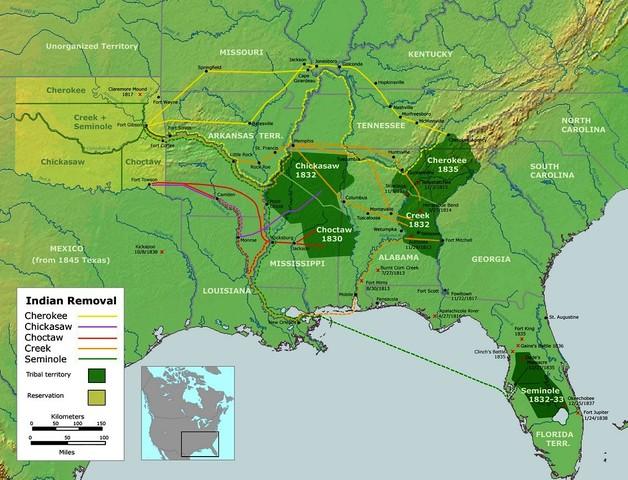 Cherokee sign treaty of remvol