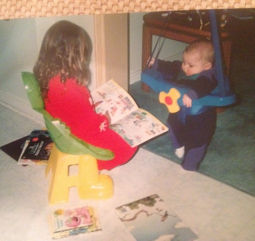 Reading To My Brother