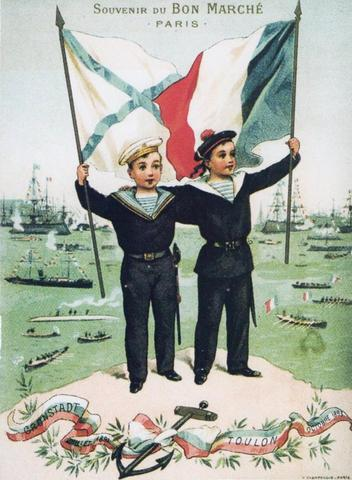 Alliance is formed between Russia and France