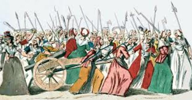 March on Versailles (Political- Economic)