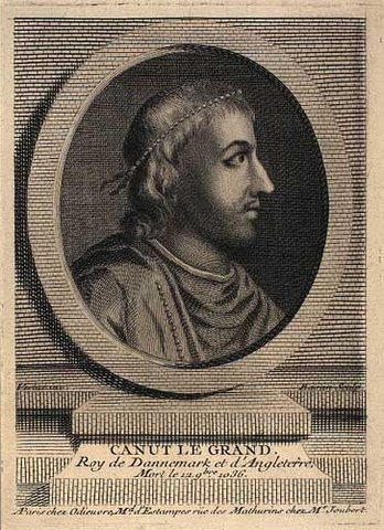 Knud den Store og erobringen af England