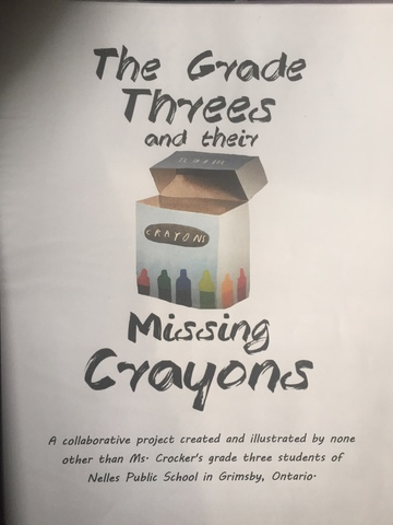 """""""The Grade Threes and Their Missing Crayons"""""""