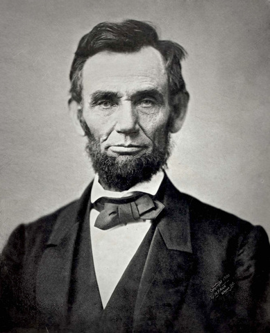 Lincoln would be serving as President in 1861.