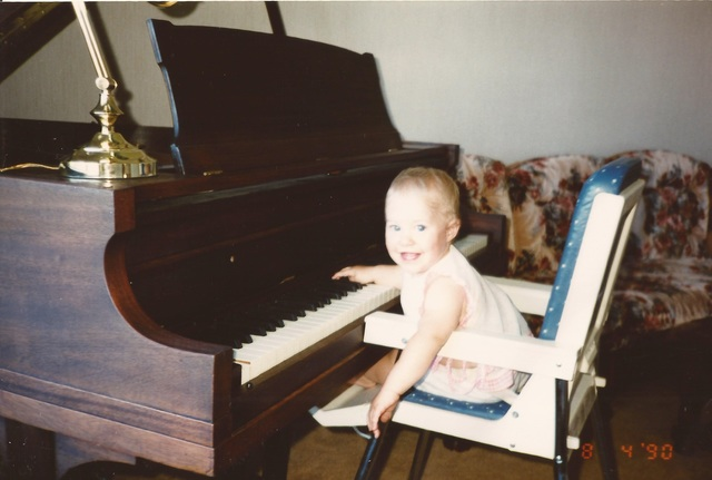 Piano Player in the Making