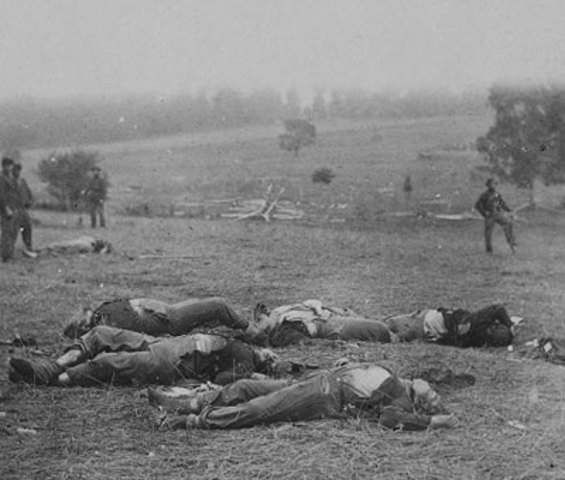 The fall 1864 the battle casualties were wearing down the confedreates.