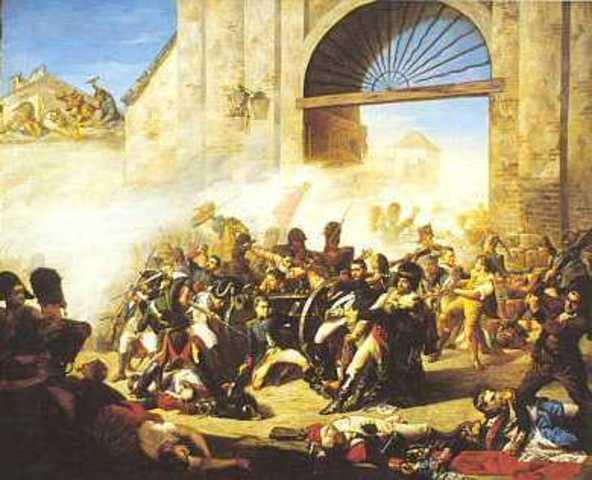 Inici de la Guerra de la Independència Espanyola.