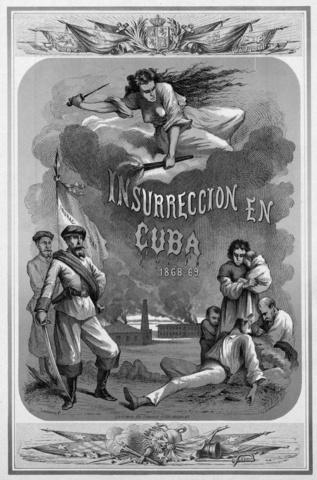 Insurrección en la isla de Cuba.