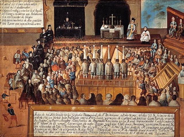 Desapareix el Tribunal de la Inquisició a Espanya.