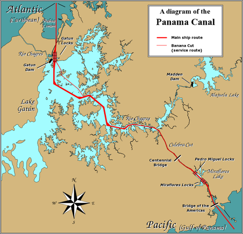 The Panama Canal is finished