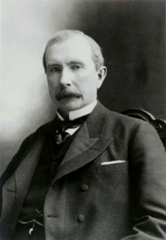 John D. Rockefeller Forms Standard Oil and Develops Petroleum as a Major Energy Source in the US
