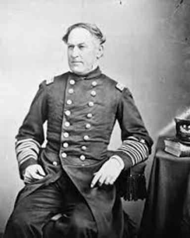 Farragut Sent a Delegation