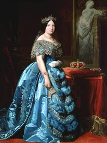 Regnat d'Isabel II.