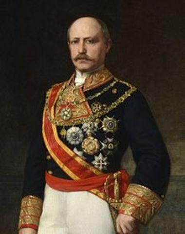 Regència del general Serrano.