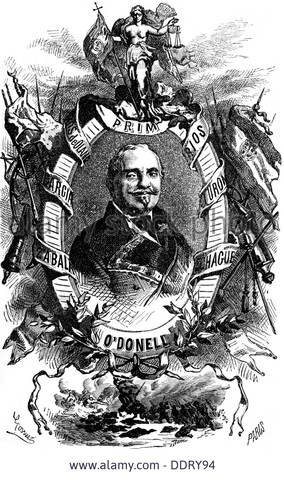 O´Donell funda la Unión Liberal