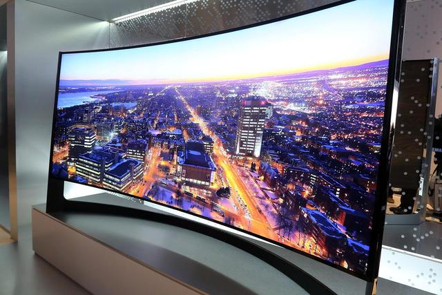 Curved TV's