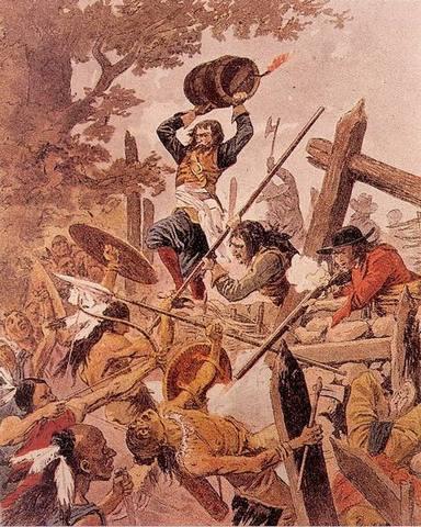 Algonquin vs Iroqouis