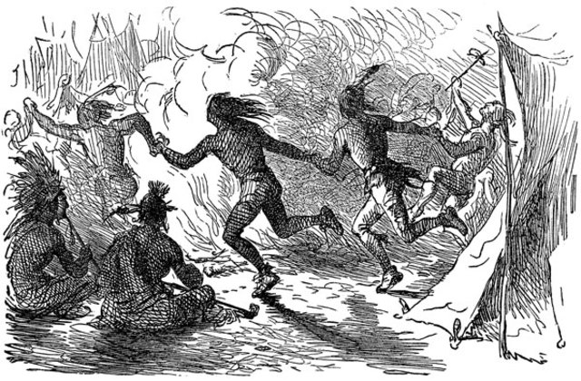 The Iroquis grow strong
