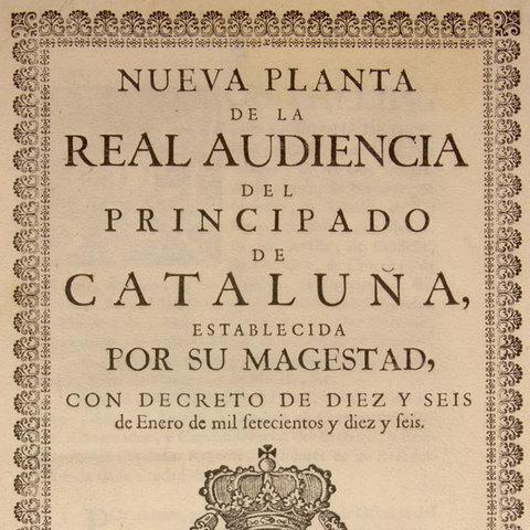 New Foundation Laws (Decretos de Nueva Planta)