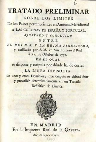 The Treaty of San Idelfonso