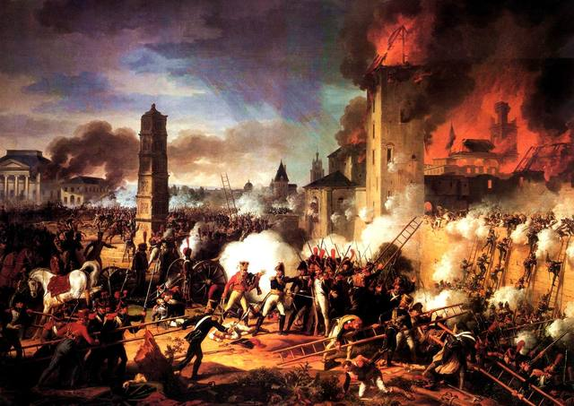 Storming battle (French revolution)